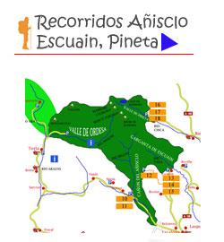 rutas gargantas de escuain y valle de pineta